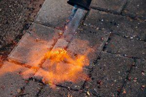 Is onkruid branden effectief?