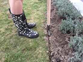 Hoe graskanten steken