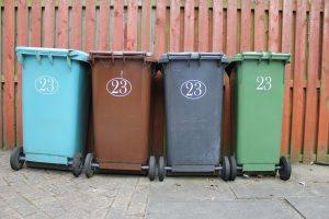 Stinkende container voorkomen